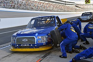 NASCAR Truck Interview Keselowski looks for mercy following Truck team's mishap