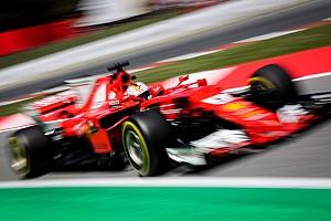 Формула 1 Новость Феттель признан гонщиком дня на Гран При Испании