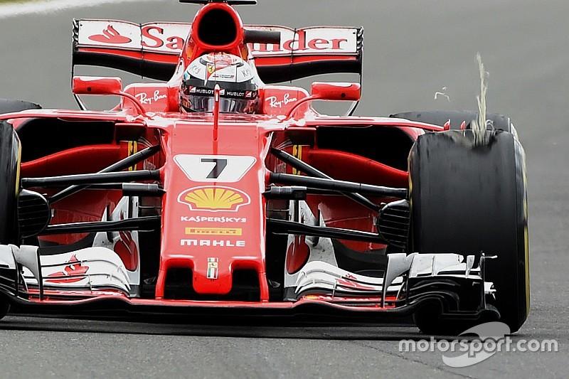 Pirelli diz que problemas de Kimi e Vettel foram diferentes