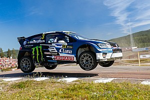 World Rallycross Résumé de qualifications Kristoffersson et Solberg en tête avant les demi-finales