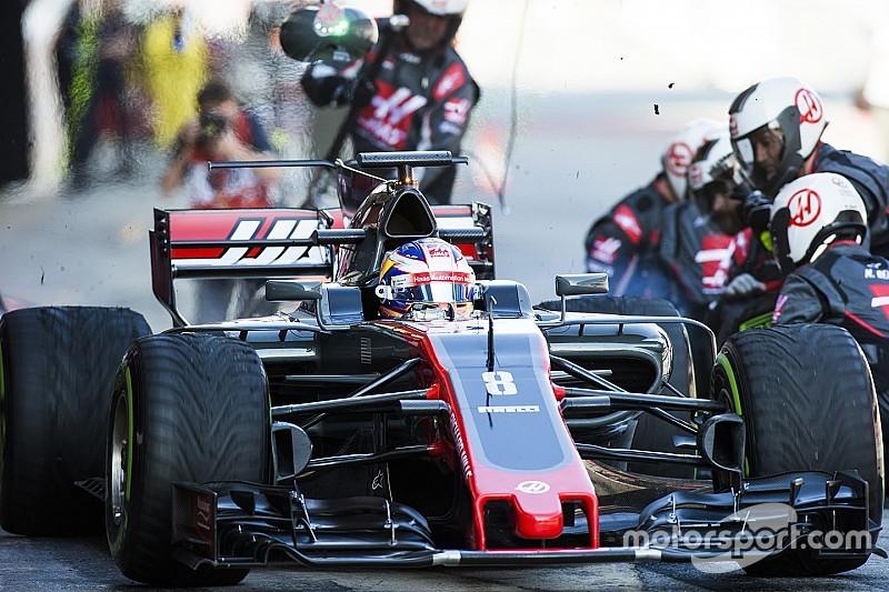 "Grosjean - ""L'évolution de Haas est monstrueuse"""