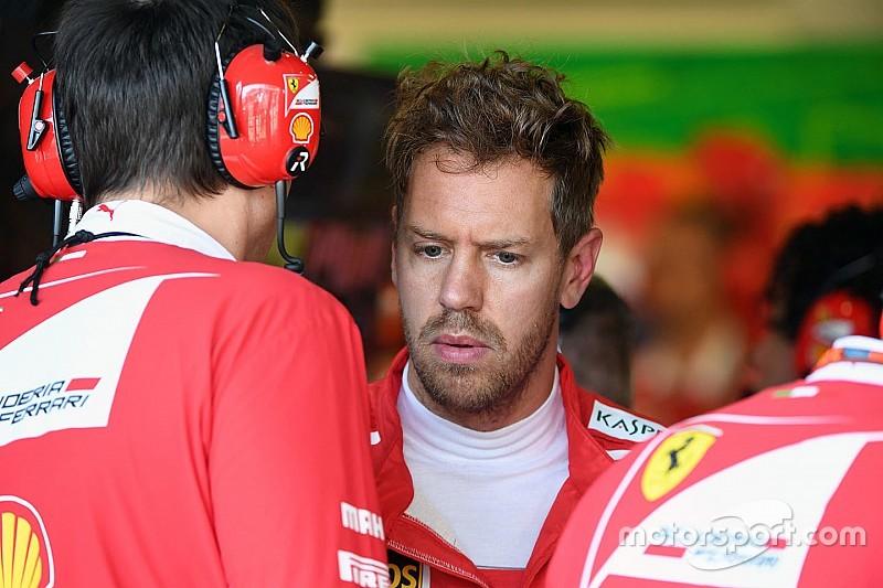 维特尔:我觉得我在巴库顶撞汉密尔顿让法拉利失望了