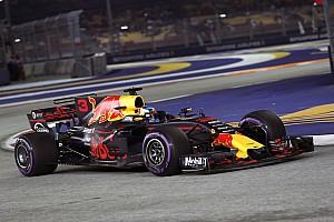 F1 练习赛报告 新加坡大奖赛FP2:里卡多横扫周五练习,维特尔蹭墙