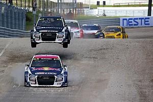 World Rallycross Yarış ayak raporu Letonya WRX: Heikkinen, Kristoffersson'un önünde ilk günü lider kapadı