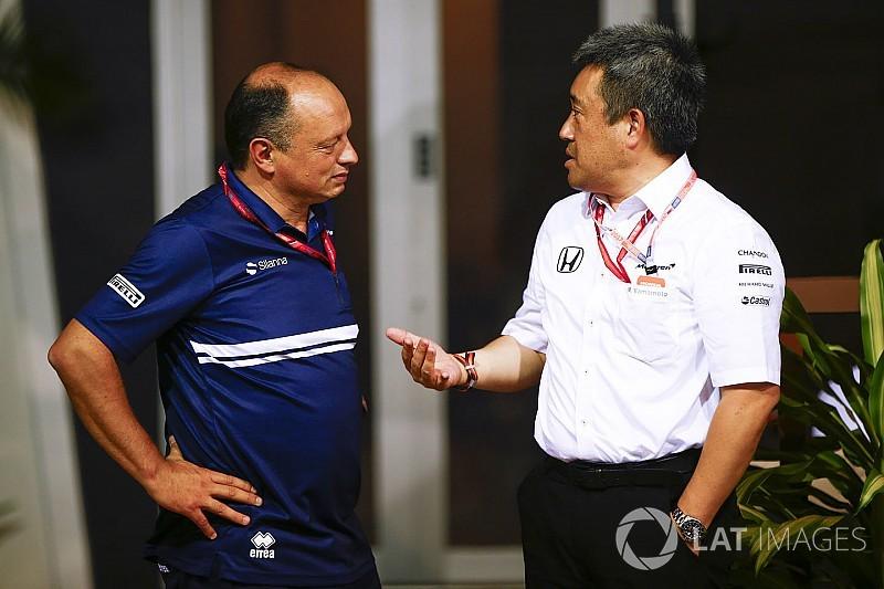 Vasseur blies Honda-deal af in eerste uur als Sauber-teambaas