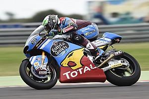 Moto2 Race report Argentina Moto2: Morbidelli wins again as Marquez crashes