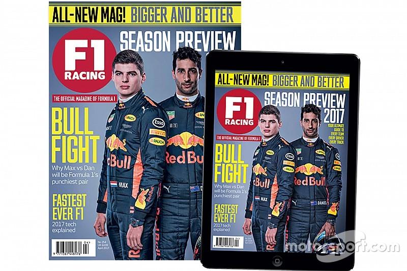 """شبكة موتورسبورت تقدم مجلة """"إف1 ريسينغ"""" بحلّة جديدة محدّثة"""