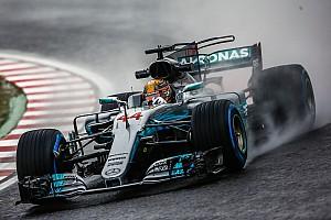 Formule 1 Actualités Hamilton : Sous la pluie, le public est floué par une règle
