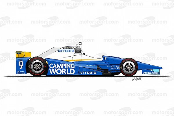 IndyCar Diaporama Diaporama - Les 33 voitures de l'Indy 500