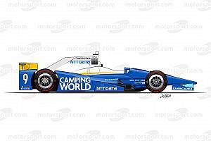 IndyCar Top List Galería: así serán las 32 decoraciones que acompañarán a Alonso en Indy 500