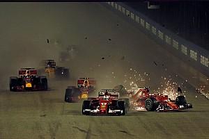 Formule 1 Diaporama Photos - Le chaotique départ du Grand Prix de Singapour