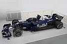 Red Bull показала новую машину в сине-черной раскраске