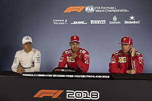 Formula 1 Press conference German GP: Post-qualifying press conference