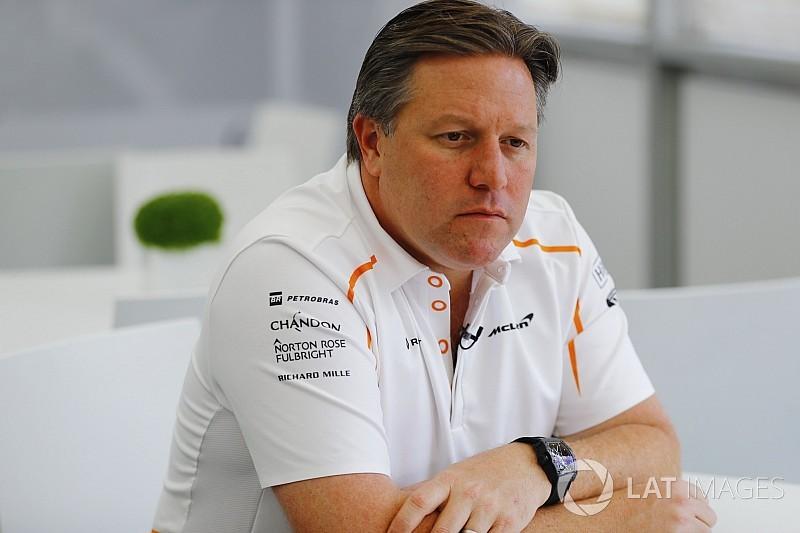 Zak Brown devient PDG de McLaren Racing