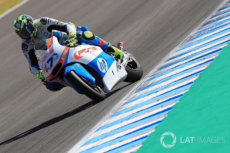 Jerez Moto2: Baldassarri wins despite Oliveira charge