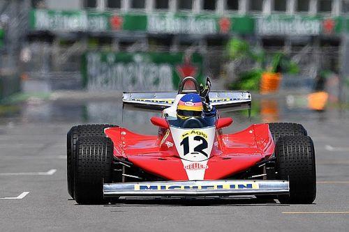 Jacques Villeneuve enjoyed driving his father's Ferrari 312 T3