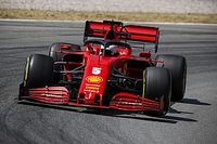 "Vettel: Car ""making a bit more sense"" after chassis change"