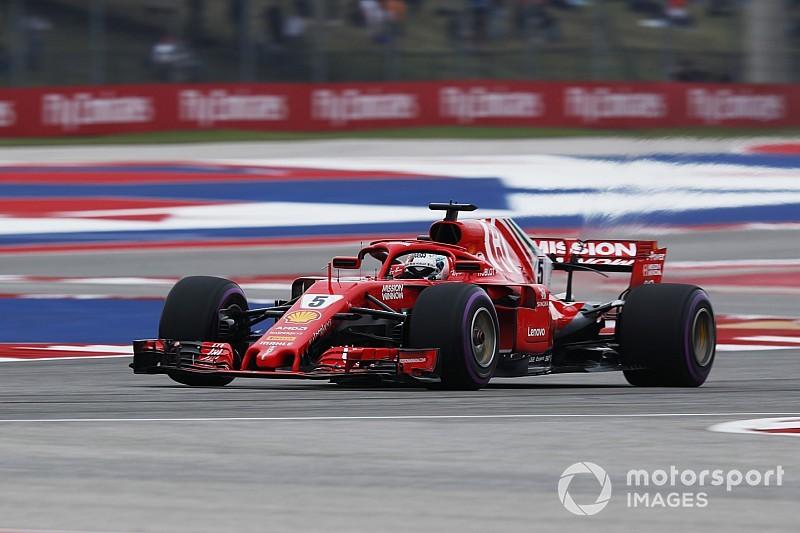 Vettel y Ferrari mandan en la última práctica en Estados Unidos