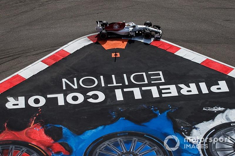 Diaporama: l'Alfa Romeo Sauber dans le Grand Prix de Russie