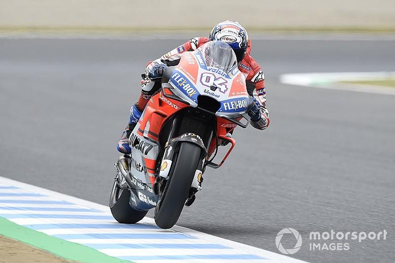 Motegi MotoGP: Dovizioso fastest again ahead of qualifying