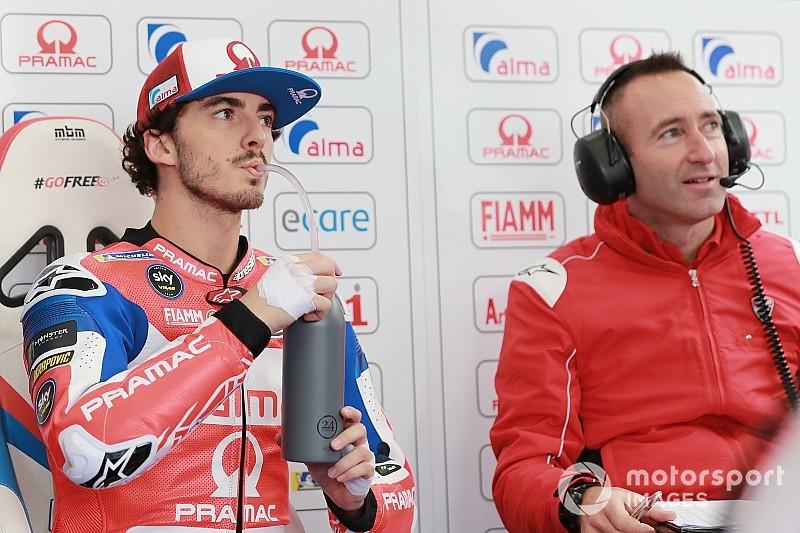 Ducati jelaskan alasan Bagnaia ditangani Gabarrini