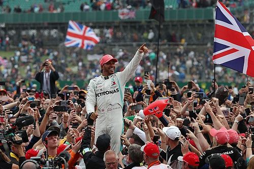 Grand Prix van Groot-Brittannië voor volle tribunes