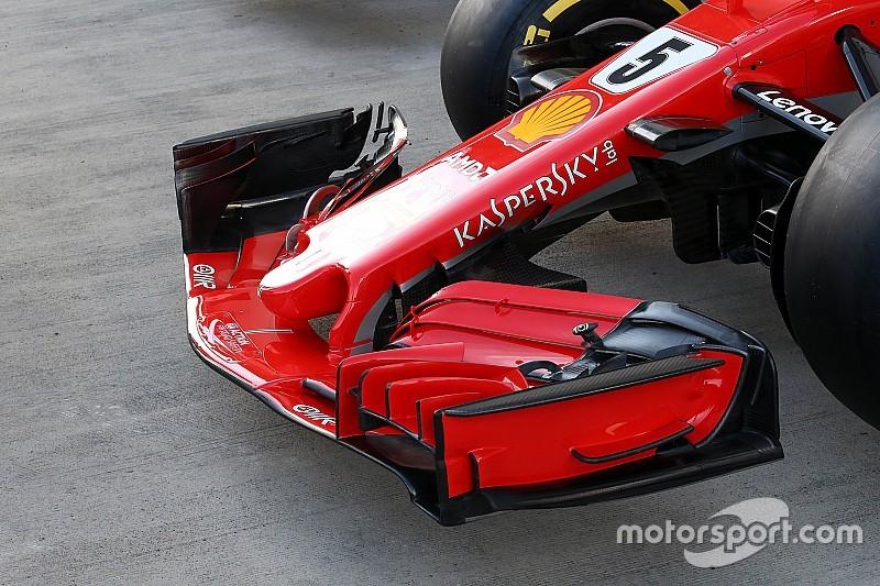Analyse: Ferrari met groot updatepakket naar Rusland, voorvleugel kopie van RB14