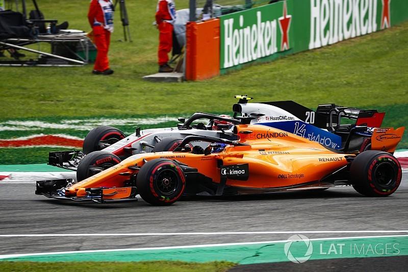 Nach Magnussens Wutrede: Fernando Alonso bleibt ganz cool