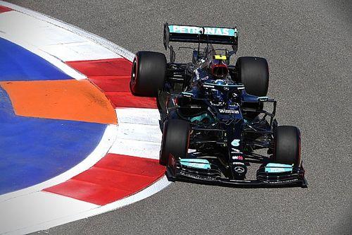 ¡Mercedes hace salir a Bottas al fondo de la parrilla en Sochi!