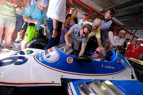 Jacques Laffite en star du GP de France Historique