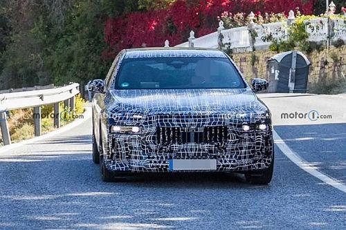 Kémfotók: ilyen lesz az új 7-es BMW