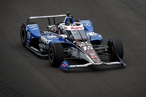 Indy 500: Rahal leads Dixon in opening practice