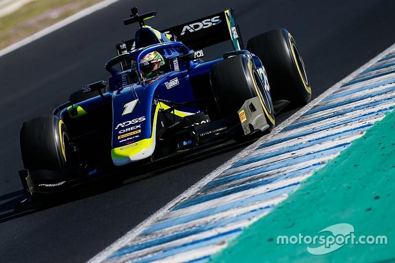 Fotostrecke: Die Schweizer Ralph Boschung, Louis Delétraz und das Sauber Junior Team an den Formel-2-Tests in Jerez