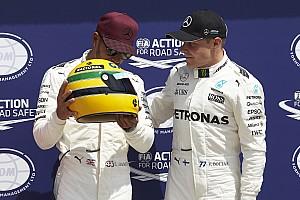 Fórmula 1 Noticias Hamilton no recibió un casco original de carrera de Senna