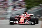 Vettel se queja de Hamilton en la práctica dos