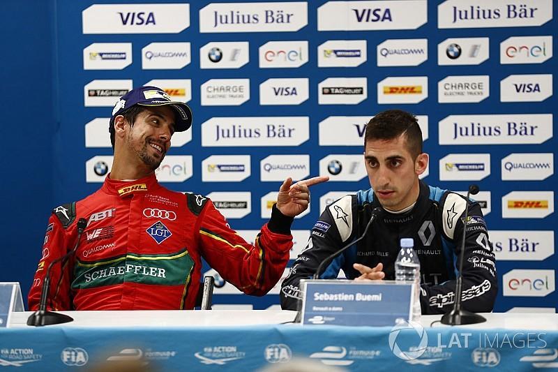"""Di Grassi hits back: """"Buemi has a problem with pressure"""""""