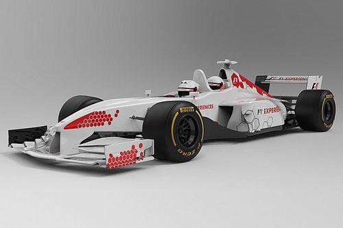 Die ersten Bilder: So wird der neue F1-Doppelsitzer 2018 aussehen