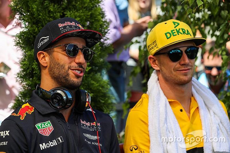 Hülkenberg: Daniel Ricciardo kocht auch nur mit Wasser