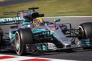 Formel 1 Trainingsbericht Formel 1 2017 in Barcelona: Mercedes auch im 2. Training am schnellsten