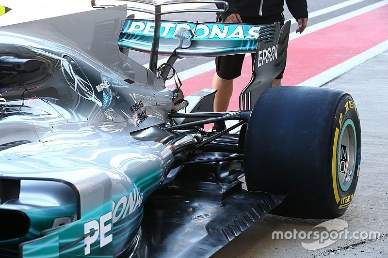 Mercedes: c'è un'appendice a... onda in coda alla pancia
