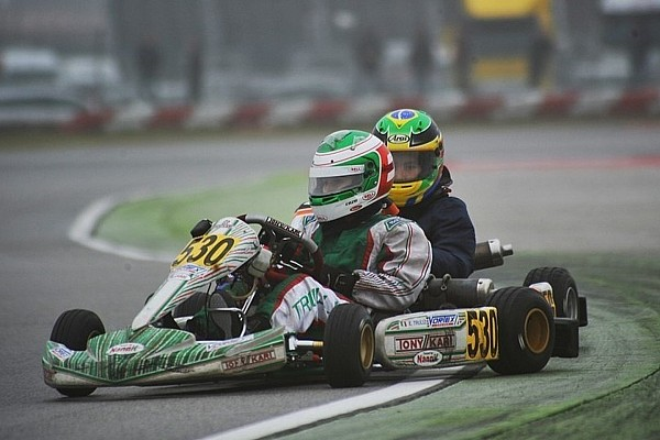 Jarno Trulli's son makes WSK karting debut