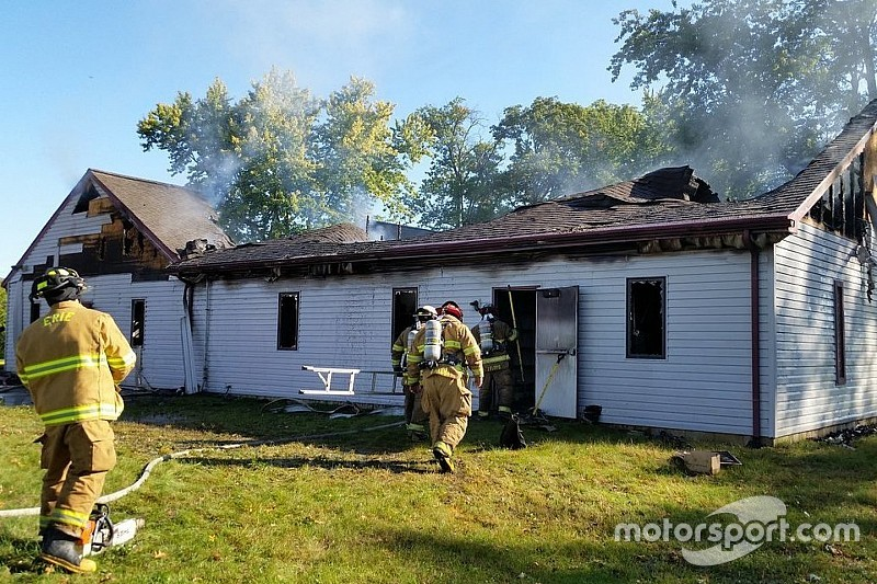 ARCA headquarters destroyed by fire