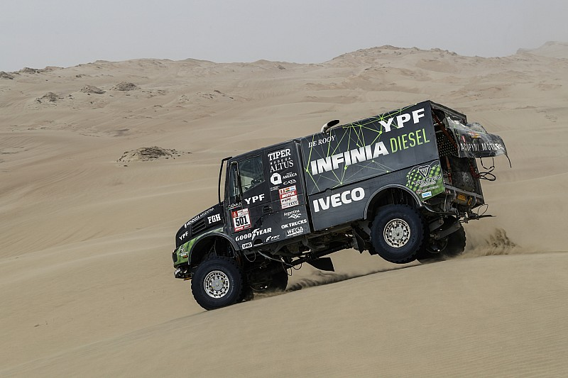Дакар-2018, Етап 6: «гол престижу» Iveco