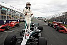 Formula 1 Australian GP: Hamilton storms to pole as Bottas crashes