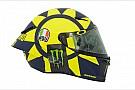 Fotogallery: Valentino Rossi cambia casco con un disegno anni '70