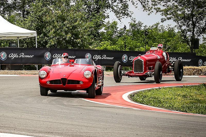 Гонщики Sauber протестували вінтажні Alfa Romeo