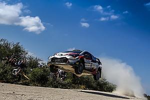 WRC Отчет о секции Тянак принес Toyota первую победу в сезоне