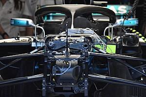 Forma-1 Elemzés Mercedes: feltárul az első futómű hidraulikája