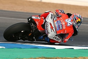 MotoGP Test Test Qatar, Giorno 1, Ore 15: Dovizioso e la Ducati partono subito forte