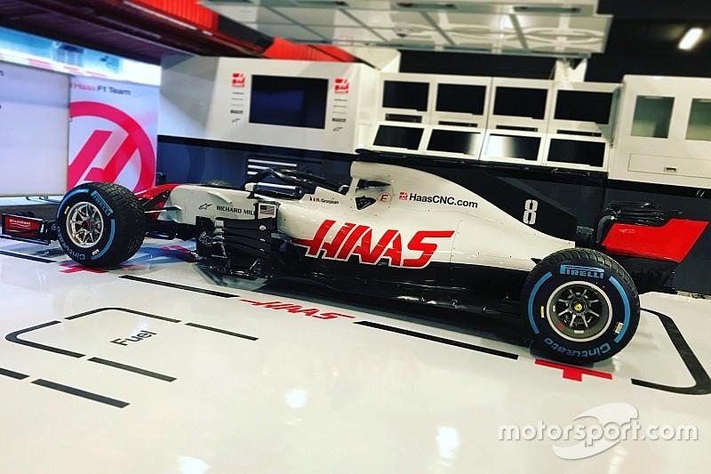 Новая машина Haas готовится к обкатке: первое «живое» фото VF-18